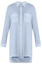 Heidi Klein St Barth step-hem cotton shirtdress
