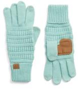 Women's Cc Rib Knit Tech Gloves