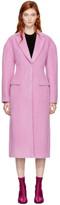3.1 Phillip Lim Pink Long Tailored Coat