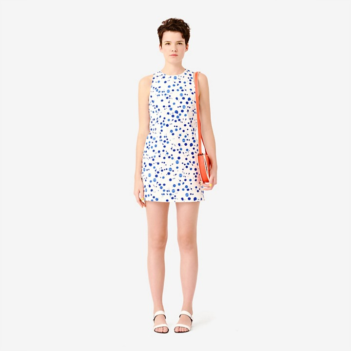 Kate Spade Saturday Everyday Shift Dress in Splatter Paint