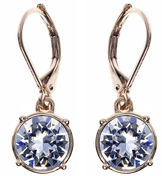 Gloria Vanderbilt Gold-Tone Crystal Drop Earrings