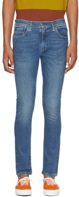 Levi's Levis Blue 510 Skinny Jeans