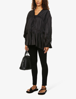 Paige Verdugo skinny mid-rise maternity jeans