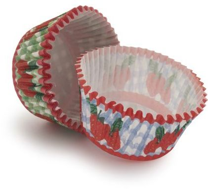 Sur La Table Meri Meri® Strawberry Duo Bake Cups, Set of 48