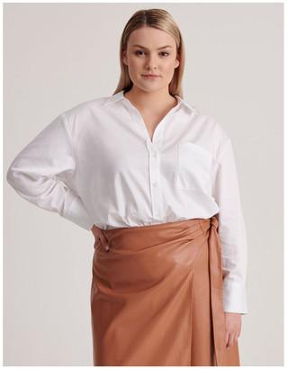 Basque Organic Cotton Boyfriend Shirt
