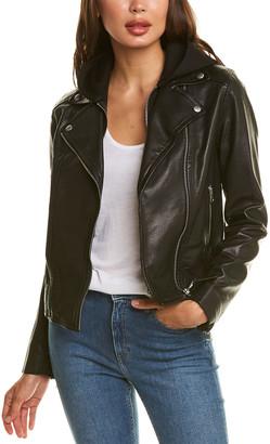 Mackage Yoana-R Leather Moto Jacket