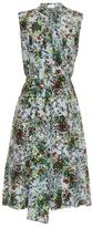 Erdem Richelle Field Flower-print sleeveless dress