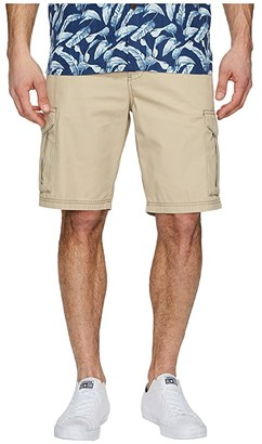 Tommy Bahama Island Survivalist Cargo Shorts (Stone Khaki) Men's Shorts