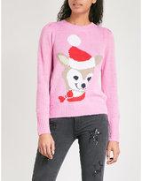 Wildfox Couture Prancer wool-blend jumper