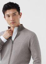 MANGO MAN Cotton Cashmere-Blend Cardigan