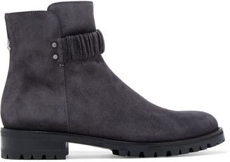 Jimmy Choo Holst Suede Ankle Boots