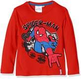 Marvel Boy's Amazing Spiderman Long Sleeve T-Shirt
