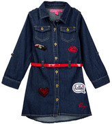 Betsey Johnson Denim Dress (Toddler Girls)