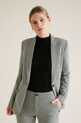 Seed Heritage Single Breasted Suit Blazer