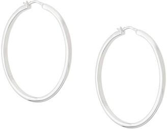 Astley Clarke large Linia hoop earrings