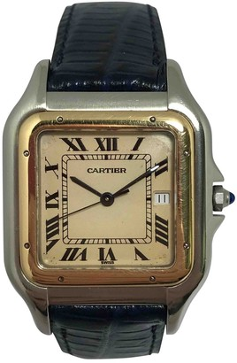 Cartier Panthere Blue gold and steel Watches