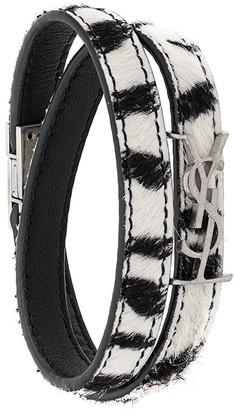 Saint Laurent Opyum double wrap bracelet