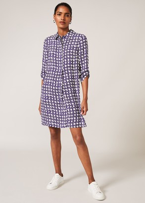 Phase Eight Ikat Shirt Dress