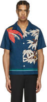 Valentino Blue Tree Shirt