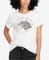 Denim & Supply Ralph Lauren Jersey Graphic-Print T-Shirt