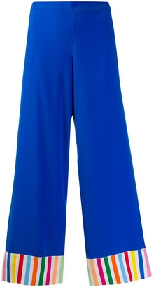 Mira Mikati Striped Cuff Trousers