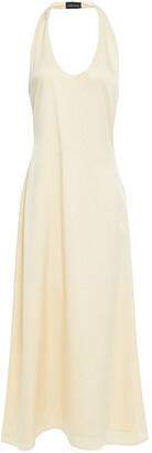 Magda Butrym Lausanne Open-back Silk-cady Midi Dress