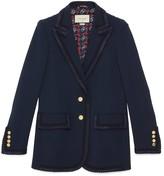 Gucci Viscose cady jacket