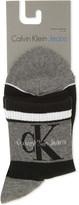 Calvin Klein Logo cotton ankle socks