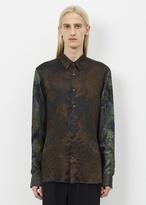 Dries Van Noten dark brown curley shirt