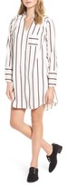 Dee Elly Women's Striped Shirtdress