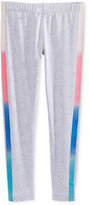 Epic Threads Mix and Match Rainbow-Stripe Tuxedo Leggings, Toddler & Little Girls (2T-6X), Only at Macy's