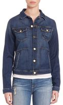Frame Le Piped Denim Jacket