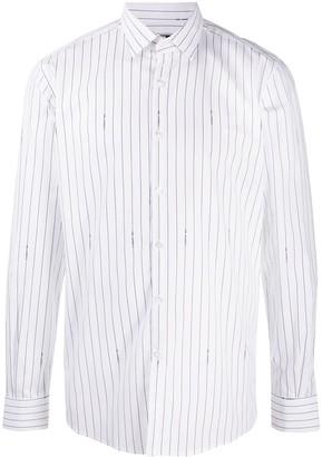 Karl Lagerfeld Paris Stripe Button Shirt