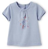 Petit Bateau Baby girl tee with motif