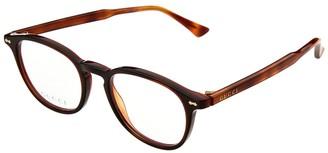 Gucci Unisex Gg0187 49Mm Optical Frames