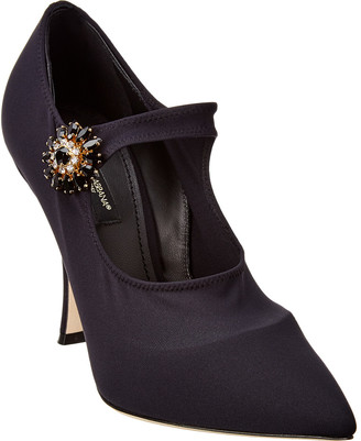Dolce & Gabbana Mary Jane Stretch Pump