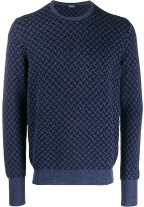 Drumohr Crew-Neck Cashmere Sweater