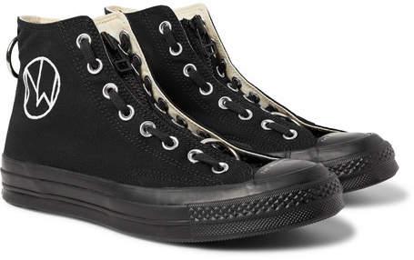 Converse + Undercover Chuck 70 Canvas High-Top Sneakers
