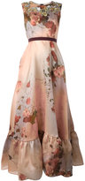 Antonio Marras floral print gown - women - Silk/Polyester - 42