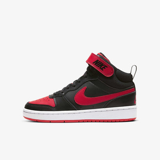 red black nike high tops