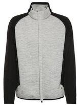 HUGO BOSS Quilted Zip-Off Sleeve Jacket Jevian M Grey