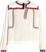 Etoile Isabel Marant Cabella embroidered peasant blouse