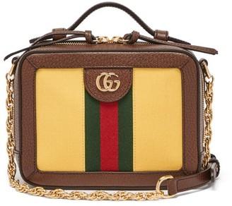 Gucci Ophidia Canvas Camera Bag - Cream Multi