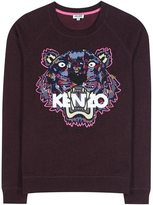 Kenzo Embroidered cotton sweater