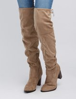 Charlotte Russe Qupid Over-The-Knee Boots