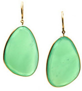 Tresor Collection - Emerald Earring in 18K Yellow Gold