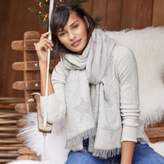 The White Company Star Sparkle Scarf
