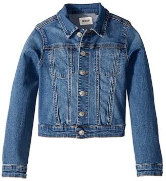 Hudson Jean Jacket (Big Kids) (Indigo Blue) Girl's Clothing