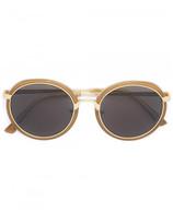 Linda Farrow Dries Van Noten x x round framed sunglasses