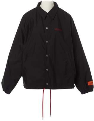Heron Preston Black Synthetic Jackets